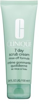 Clinique 7 Day Scrub Cream Cleansing Peeling For Everyday Use