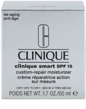 Clinique Clinique Smart creme diário hidratante antirrugas para a pele seca a muito seca SPF 15
