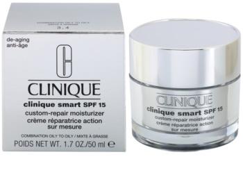 Clinique Clinique Smart ránctalanító nappali hidratáló krém a zsíros bőrre SPF 15