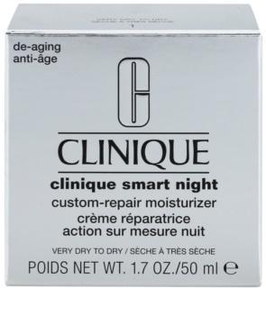 Clinique Clinique Smart hydratačný nočný krém proti vráskam pre suchú až veľmi suchú pleť