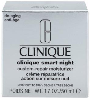 Clinique Smart hydratačný nočný krém proti vráskam pre suchú až veľmi suchú pleť