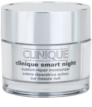 Clinique Clinique Smart creme hidratante de noite antirrugas para pele mista e oleosa