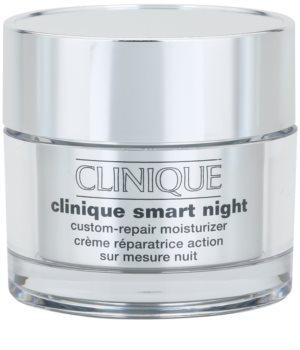 Clinique Clinique Smart hydratačný nočný krém proti vráskam pre zmiešanú až mastnú pleť