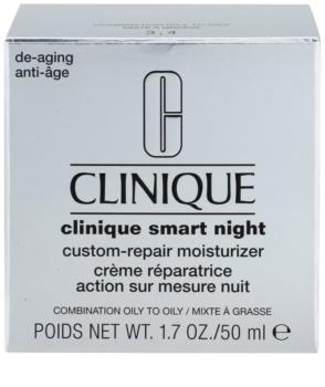 Clinique Clinique Smart Crema de noapte hidratanta anti-rid pentru tenul gras si mixt