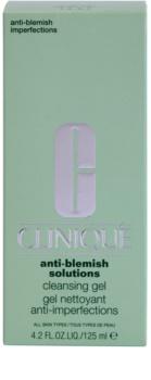 Clinique Anti-Blemish Solutions tisztító gél a bőr tökéletlenségei ellen