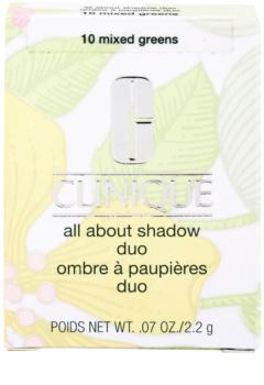 Clinique All About Shadow Duo očné tiene