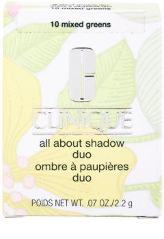 Clinique All About Shadow Duo oční stíny