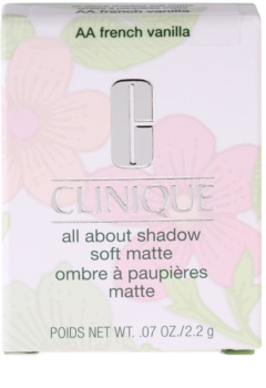 Clinique All About Shadow Soft Matte oční stíny