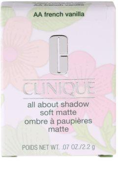 Clinique All About Shadow Soft Matte szemhéjfesték