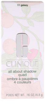 Clinique All About Shadow Quad očné tiene