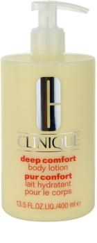 Clinique Deep Comfort mélyhidratáló testápoló tej