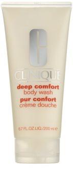 Clinique Deep Comfort gel de duche suave para todos os tipos de pele