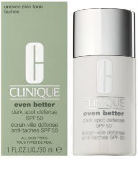 Clinique Even Better crema protectora con color antimanchas oscuras  SPF 50