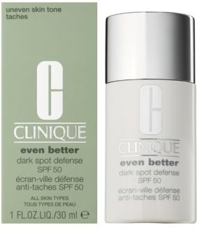 Clinique Even Better schützende Tönungscreme gegen Pigmentflecken SPF 50