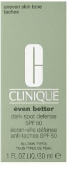 Clinique Even Better ochranný tónovací krém proti pigmentovým skvrnám SPF 50