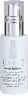 Clinique Even Better bőr emulzió a pigment foltok ellen