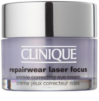 Clinique Repairwear Laser Focus oční protivráskový krém pro všechny typy pleti