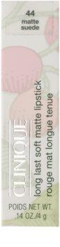 Clinique Long Last Soft Matte Lipstick ruj cu persistenta indelungata cu efect matifiant