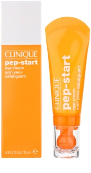 Clinique Pep-Start hydratisierende Augencreme gegen Schwellungen und Augenringe