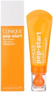 Clinique Pep-Start vlažilna krema za predel okoli oči proti oteklinam in temnim kolobarjem