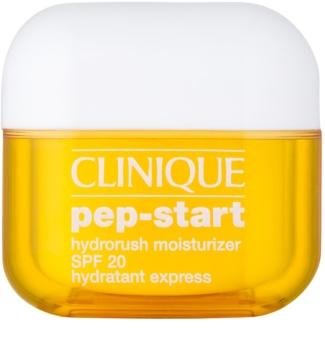 Clinique Pep-Start hidratant si pentru protectie solara SPF 20
