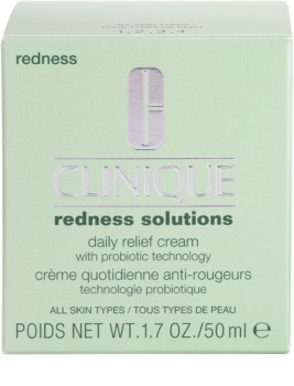 Clinique Redness Solutions denný upokojujúci krém pre všetky typy pleti