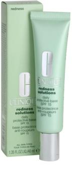 Clinique Redness Solutions ochranný a zklidňující krém pro redukci začervenání pleti