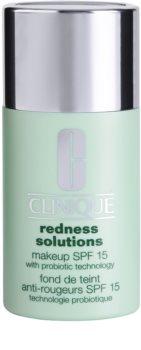 Clinique Redness Solutions fond de ten lichid  SPF 15