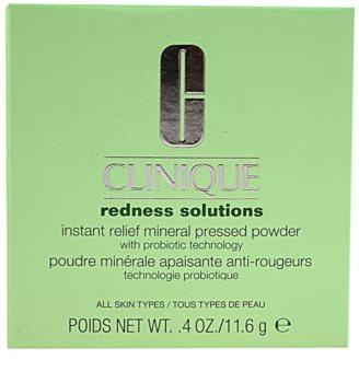 Clinique Redness Solutions pudra compacta pentru toate tipurile de ten