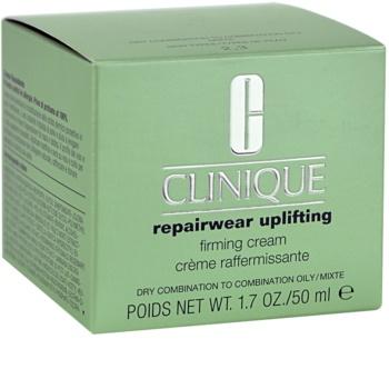 Clinique Repairwear Uplifting feszesítő arckrém száraz és kombinált bőrre