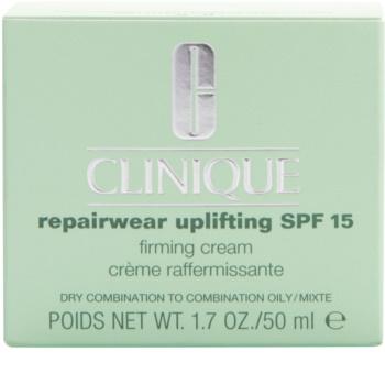 Clinique Repairwear Uplifting zpevňující protivráskový krém SPF 15
