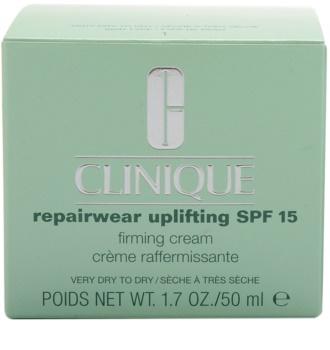 Clinique Repairwear Uplifting feszesítő arckrém SPF 15