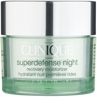 Clinique Superdefense Moisturising Anti-Wrinkle Night Cream for Oily and Combination Skin