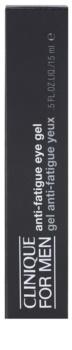 Clinique For Men gel para ojos con efecto frío antibolsas y antiojeras