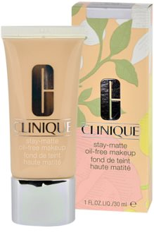 Clinique Stay Matte make up lichid  pentru ten mixt si gras