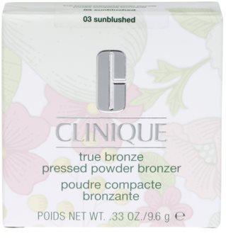 Clinique True Bronze компактна пудра-бронзантор