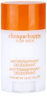 Clinique Happy for Men deodorant stick voor Mannen  75 ml
