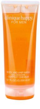 Clinique Happy for Men sprchový gel pro muže 200 ml