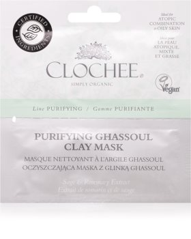 Clochee Purifying tisztító arcmaszk agyaggal
