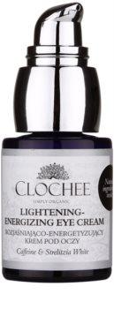 Clochee Simply Organic rozjasňujúci a povzbudzujúci očný krém proti opuchom a tmavým kruhom