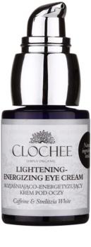 Clochee Simply Organic világosító és élénkítő szemkrém a duzzanatokra és a sötét karikákra