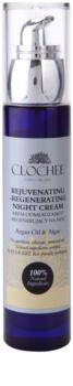 Clochee Simply Organic crema regeneratoare de noapte cu  efect de intinerire