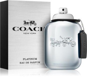 Coach Platinum eau de parfum per uomo 100 ml