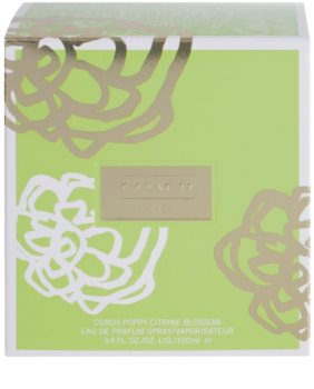 Coach Poppy Citrine Blossom Eau de Parfum for Women 100 ml