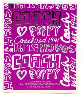 Coach poppy flower eau de parfum for women 50 ml notino coach poppy flower eau de parfum for women 50 ml mightylinksfo