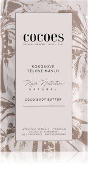 COCOES Rich Nutrition Natural Körperbutter mit Kokos
