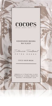 COCOES Intensive Treatment Extra Kokos Hair Mask with Coconut