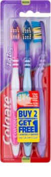 Colgate Zig Zag medium fogkefék 3 db