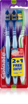 Colgate Zig Zag zubní kartáčky medium 3 ks
