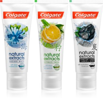 Colgate Natural Extracts козметичен пакет  I.